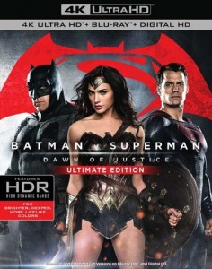 Batman v Superman: Dawn of Justice - Ultimate Edition (US Cover)