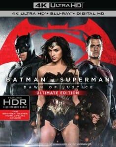 Batman v Superman: Dawn of Justice - Ultimate Edition (US Cover)