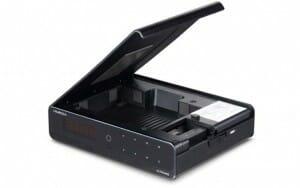 Im HIMEDIA Q10 Pro lässt sich eine 2.5 oder 3.5 Zoll Festplatte mit maximal 6TB verbauen