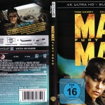 Mad Max 4K Blu-ray komplettes Cover