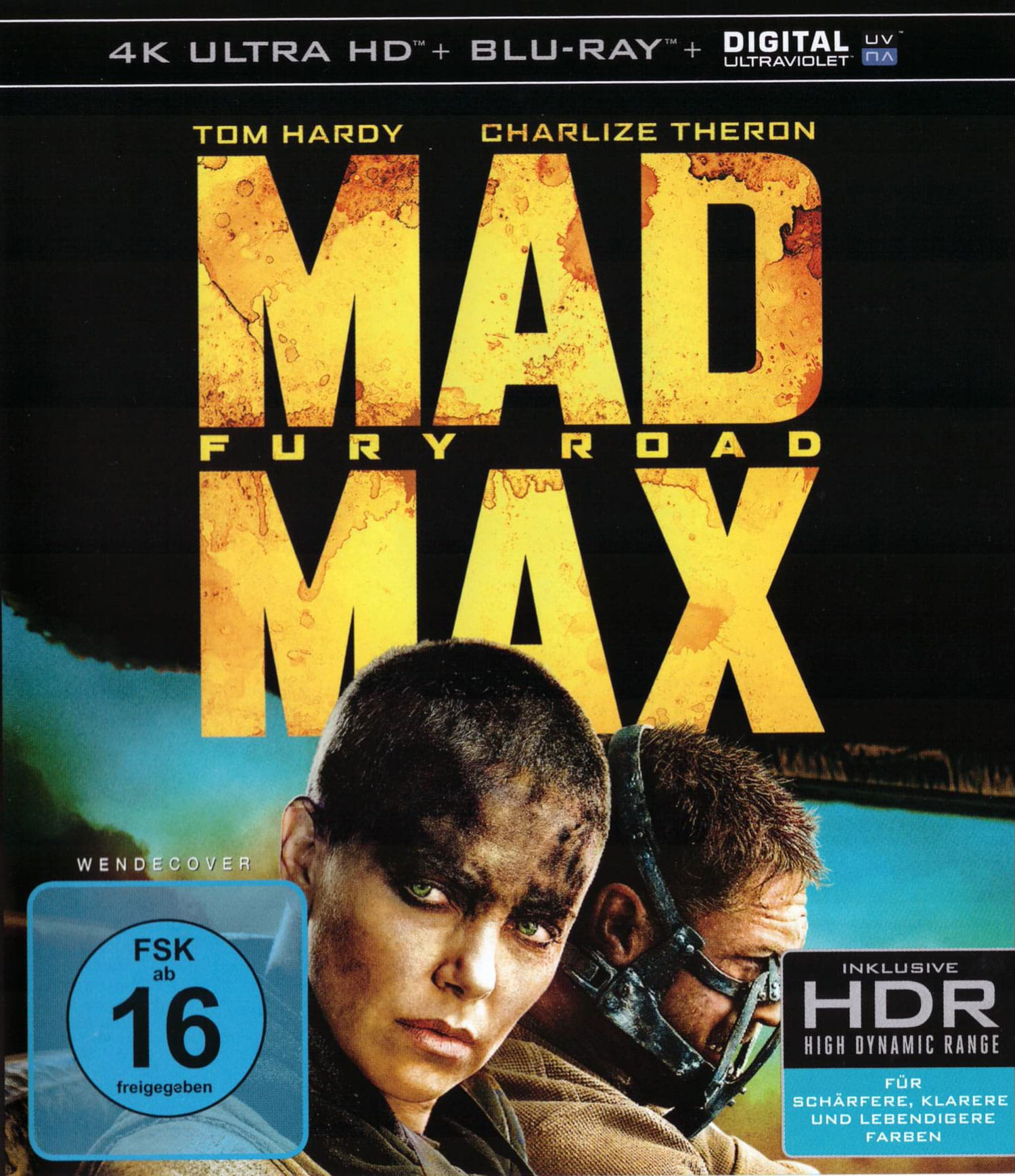 Mad Max Frontcover 4K Blu-ray