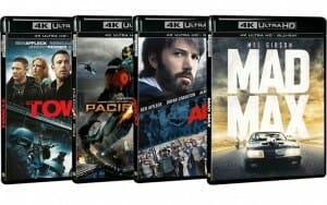 Amazon.fr listet neue 4K Blu-rays unter anderem Mad Max I, Ghostbusters I und Ghostbusters II