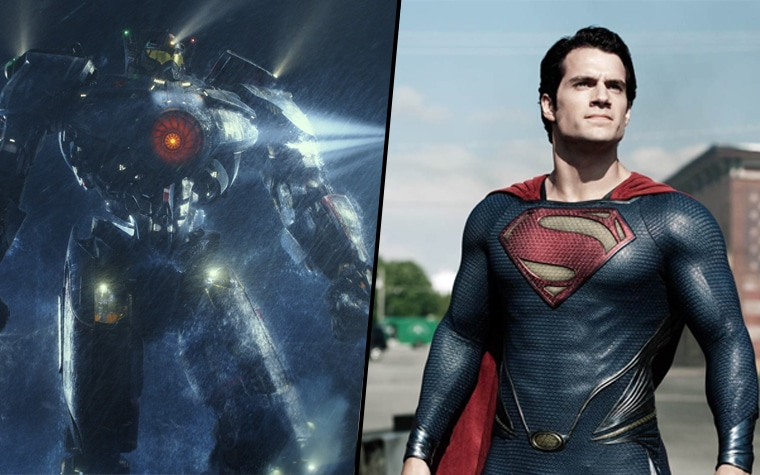 Pacific Rift & Man of Steel auf 4K Blu-ray