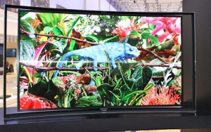 Samsung OLED Fernseher S9C war das Highlight auf der IFA 2013