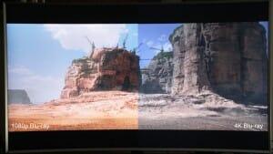 Vergleichsbild Mad Max 4K Blu-ray