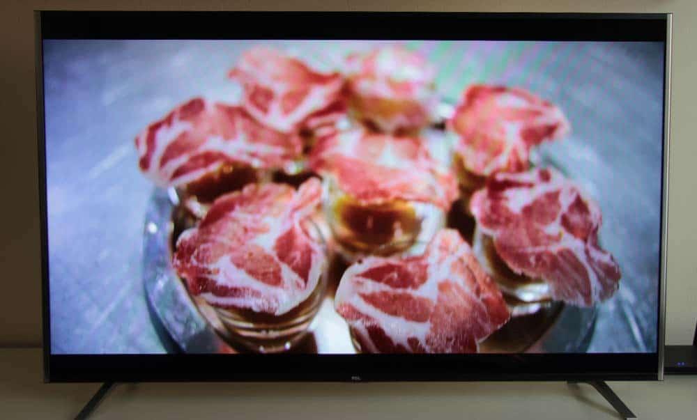 """Bildtest 4K Streaming """"Chefs Table"""" von Netflix"""