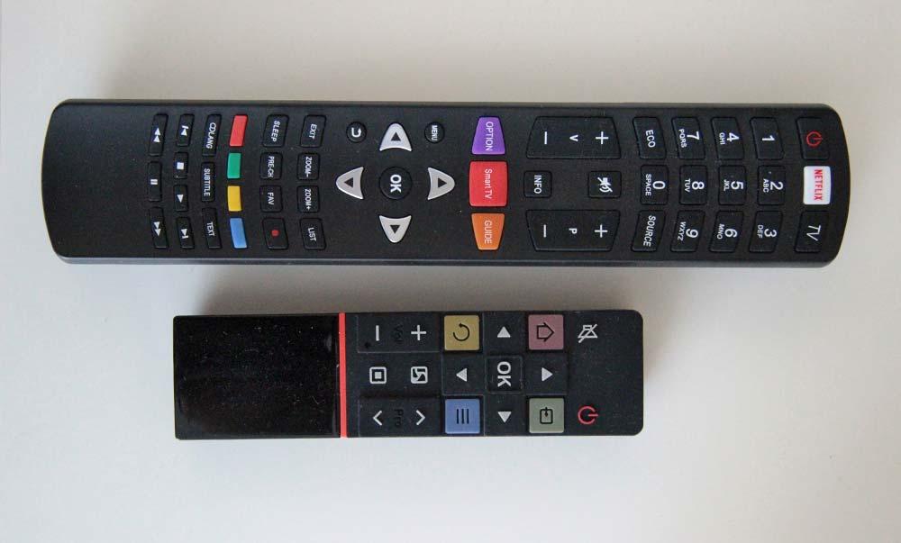 Smart TV2 Menüoberfläche