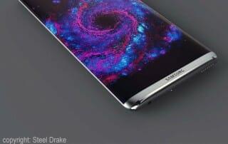 Samsung Galaxy S8 mit 4K Display Konzept