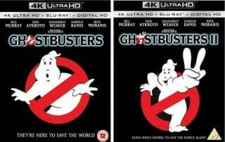 Ghostbusters 1 & 2 auf 4K Blu-ray