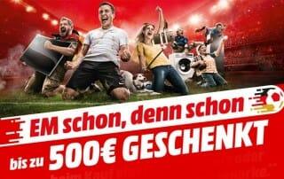 Media Markt 500 Euro geschenkt beim Kauf eines TVs Beamers oder Soundbars