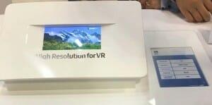 Samsung Display zeigte ein 4K AMOLED Bildschirm mit 5.5 Zoll für VR-Anwendungen