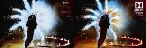 Vergleichsbild SDR zu Dolby Vision HDR