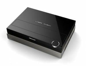 Der 4K Laser Cast Projektor soll ein ähnlich anspruchsvolles Design wie die Full-HD Version erhalten