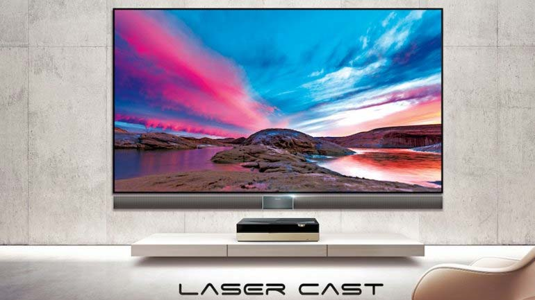 Hisense 4K Laser Cast