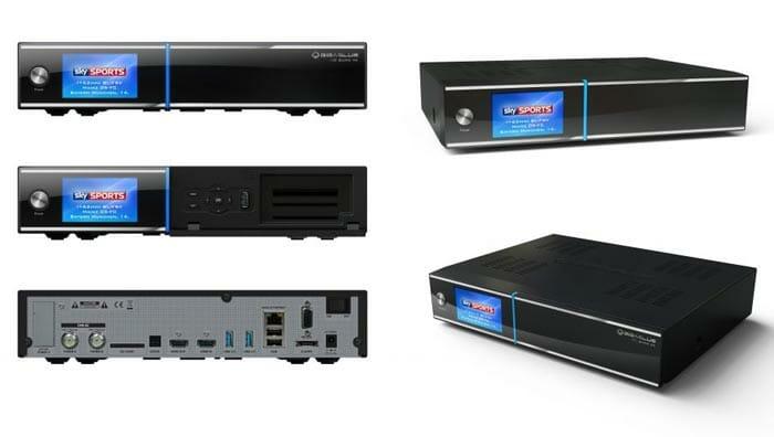 GigaBlue UHD Quad 4K Detailansicht