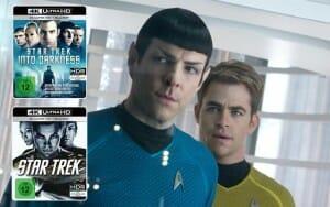 Star Trek und Star Treck: Into Darkness erscheinen am 29. September auf 4K Blu-ray