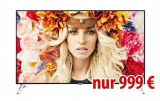 Telefunken 65 Zoll 4K TV für günstige 999 Euro