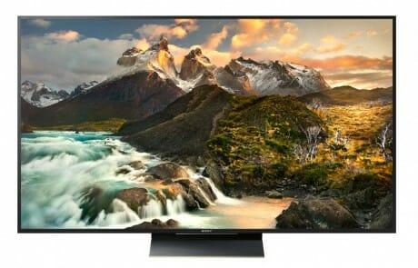 ZD9 4K HDR Fernseher mit 65 und 75 Zoll (Frontansicht)
