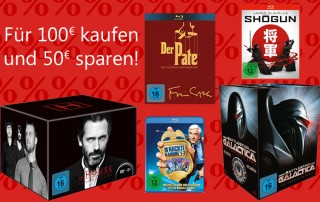 Für 100 Euro einkaufen und 50 Euro sparen