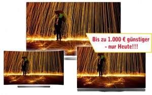 1000 Euro günstiger LGs 4K OLED TV