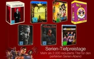 Serien-Tiefpreistage bei Amazon