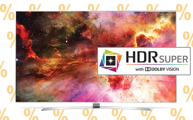 4K Fernseher Super UHD TV mit Dolby Vision im Angebot