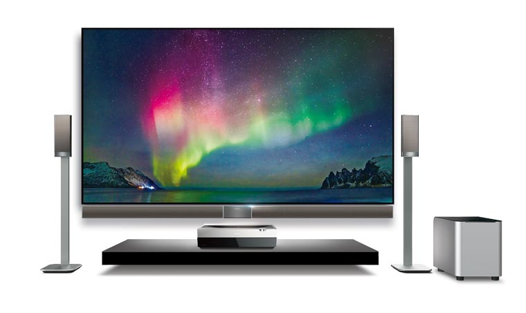 hisense 4k laser cast beamer erste bilder und. Black Bedroom Furniture Sets. Home Design Ideas