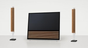Der BeoVision 14 passt perfekt zu den BeoLab 18 Lautsprechern
