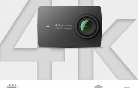 Ausstattungs-Highlights der Yi 4K Actioncam