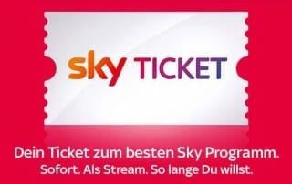 Sky Ticket Fussball