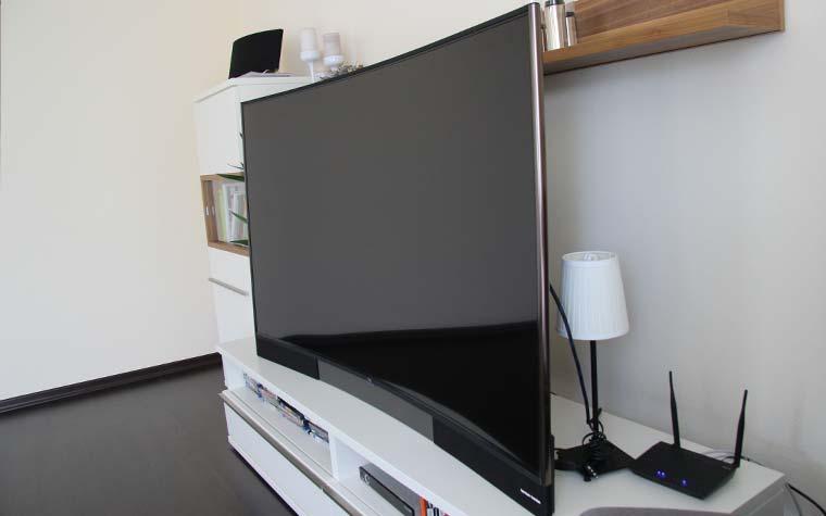Die Smart TV 2 Oberfläche für die Auswahl der verschiedenen Apps und Mediatheken