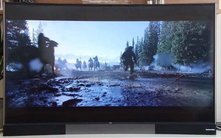 Die 4K Blu-ray The Revenant verliert auch bei Szenen mit hellen und dunklen Bildbereichen keine Details