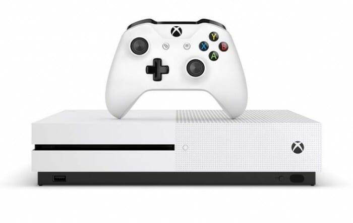 Xbox One S mit 4K Blur-ay Laufwerk