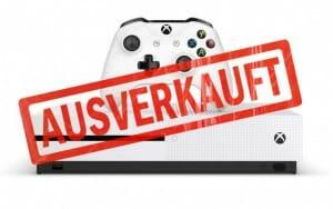 Xbox ONE S 2TB bald ausverkauft?