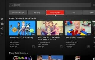 Die Youtube App auf 4K Fernseher Set-Top-Boxen usw. erhält ein großes Update