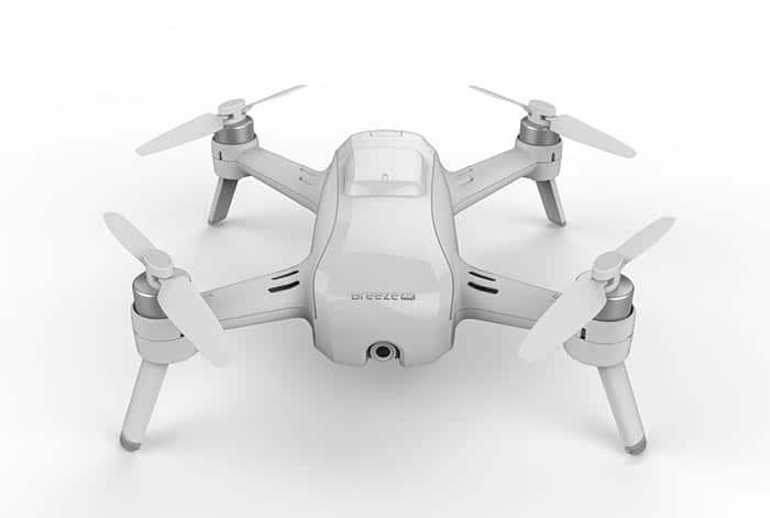Yuneec Breeze Quadrocopter mit 4K Aufnahme landet auf der IFA