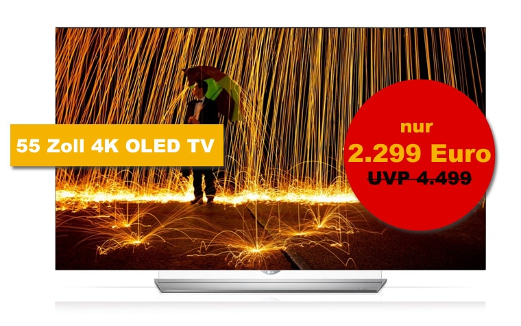 lg 4k oled tv mit 55 zoll zum hammerpreis von euro 4k filme. Black Bedroom Furniture Sets. Home Design Ideas
