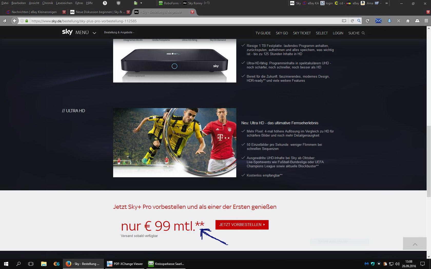 Sky pro 4k receiver ab jetzt f r 99 euro vorbestellbar for Poco wohnwand 99 euro