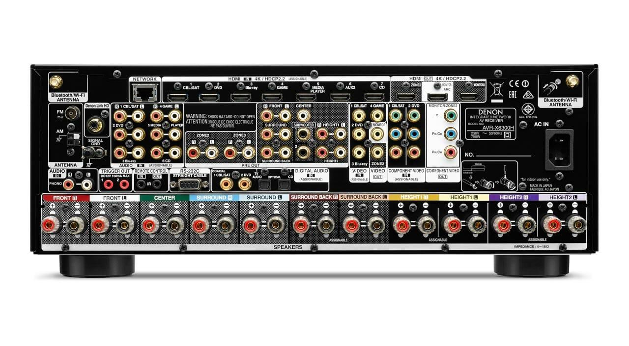 AVR-X6300H & AVR-X4300H