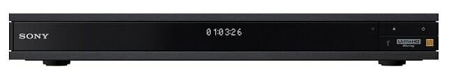 Frontabbildung des Sony UBP-X1000ES