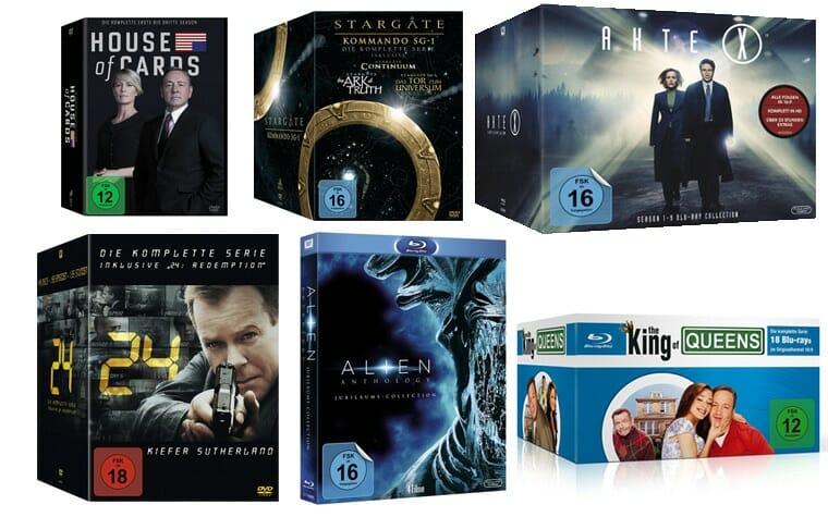 Film & Serien Boxen reduziert auf Amazon.de