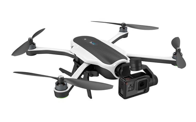 Der 3-Achsen Gimbal kann aus der Drohne herausgenommen und per Hand genutzt werden.