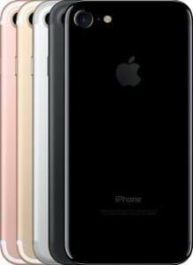 Das iPhone 7 ist in 5 Farben erhältlich