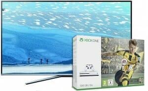 Samsung 4K Fernseher mit Xbox ONE S im Bundle für nur 1.049 Euro