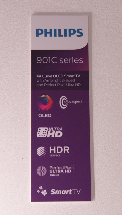 Philips 901C Curved 4K OLED