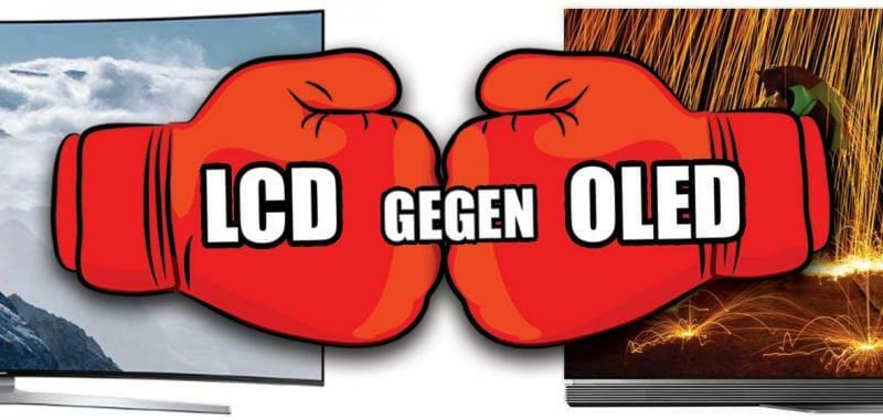 LCD und OLED im Vergleich