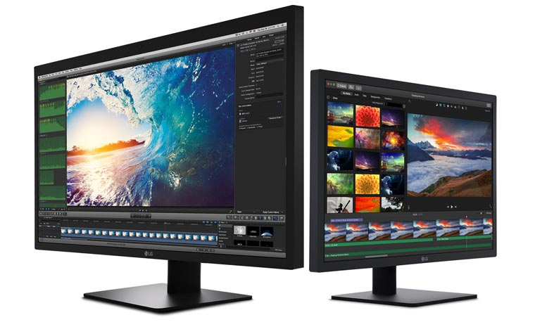 LG Ultrafine 5K und 4K Display für Apples Macbook Pro
