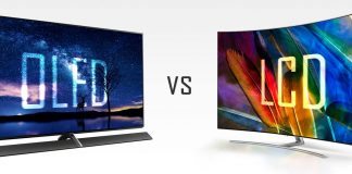 OLED gegen LCD
