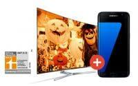 Samsung #Superdeals Galaxy S7 Edge geschenkt beim Kauf eines Samsung SUHD/UHD TV
