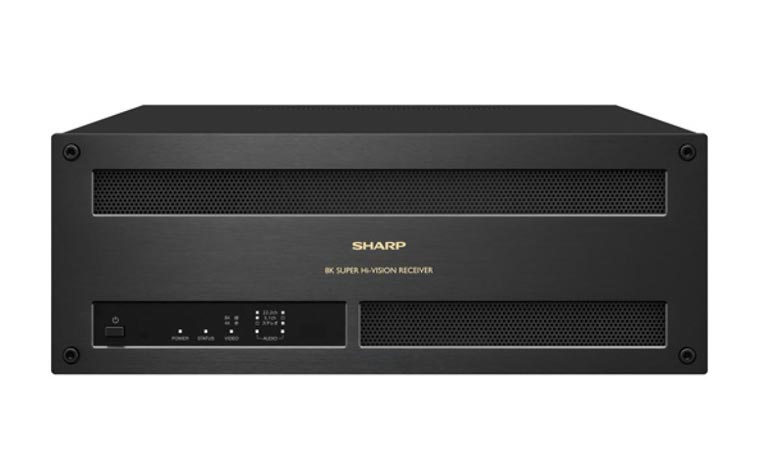 Sharp 8K Receiver